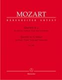 Quatuor en sol mineur KV 478 –parties instrumentales - laflutedepan.com