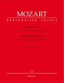 Quartett F-Dur KV 370 - Oboe Violine Viola Violoncello laflutedepan.com