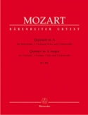 Quintette en La Majeur KV 581 - Clarinette et quatuor à cordes. Parties instrum laflutedepan.com