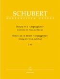 Sonate en la Mineur Arpeggione D 821 - Alto et piano laflutedepan.com