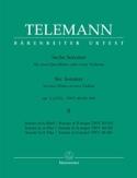 6 Sonates op. 2 Volume 2 pour 2 Flutes ou 2 violons laflutedepan.com