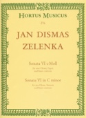 Sonate Nr. 6 En Do Min. Jan Dismas Zelenka Partition laflutedepan.com