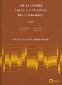 Lire la Musique par la Connaissance des Intervalles Volume 1 - laflutedepan.com