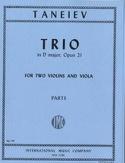 Trio D major op. 21 –2 Violins viola - Parts laflutedepan.com