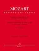 Sinfonia concertante Es-Dur KV 364 MOZART Partition laflutedepan.com