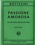 Passione amorosa Giovanni Bottesini Partition Trios - laflutedepan.be