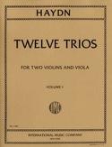 12 Trios - Volume 1 –2 Violins Viola Joseph Haydn laflutedepan.com