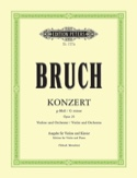 Concerto N°1 Op. 26 Sol Mineur BRUCH Partition Violon - laflutedepan