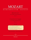 Concerto N° 3 Sol Majeur KV 216 MOZART Partition laflutedepan.com