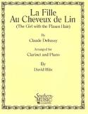 la Fille Aux Cheveux de Lin Claude Debussy Partition laflutedepan.com