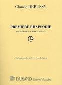 Première Rhapsodie pour clarinette Claude Debussy laflutedepan.com