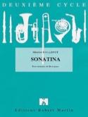 Sonatina Maurice Faillenot Partition Clarinette - laflutedepan.com