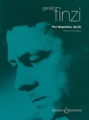 5 Bagatelles op. 23 - Gerald Finzi - Partition - laflutedepan.com
