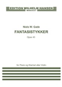 Fantasistykker op. 43 Niels Wilhelm Gade Partition laflutedepan.com
