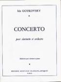 Concerto pour clarinette Ida Gotkovsky Partition laflutedepan.com