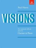 Visions Paul Harris Partition Clarinette - laflutedepan.com