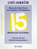 15 Moravian folksongs – Clarinet Leos Janacek laflutedepan.com