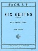 6 Suites Pour Violoncelle Seul Fournier BACH Partition laflutedepan