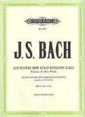 6 Suites Pour Violoncelle Seul Transcrites Pour Alto - laflutedepan.com