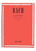6 Suites Transcrites pour Violon Seul BACH Partition laflutedepan.com