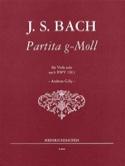 Partita G Moll nach BWV 1013 – Viola - laflutedepan.com