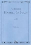 Harold en Italie op. 16 BERLIOZ Partition Alto - laflutedepan.com