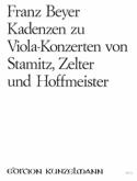 Kadenzen zu Viola-Konzerten - Franz Beyer - laflutedepan.com