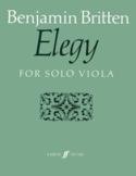 Elegy - Benjamin Britten - Partition - Alto - laflutedepan.com