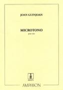 Microtono – Alto - Joan Guinjoan - Partition - Alto - laflutedepan.com