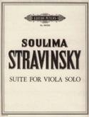 Suite for Viola solo - Soulima Stravinsky - laflutedepan.com