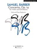 Concerto pour Violon op. 14 Samuel Barber Partition laflutedepan.com