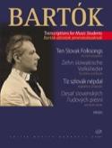 10 Slowakische Volkslieder - Violine BARTOK Partition laflutedepan.com
