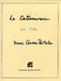 Le Catiminou Monic Cecconi-Botella Partition Violon - laflutedepan.com