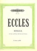Sonate en Sol Mineur Henry Eccles Partition Alto - laflutedepan.com