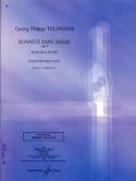 Sonates Sans Basse Opus 2 Volume 2 TELEMANN Partition laflutedepan