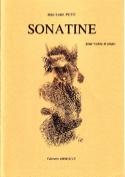 Sonatine Jean-Louis Petit Partition Violon - laflutedepan.com