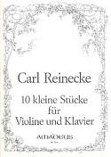 10 Kleine Stucke op. 213 Carl Reinecke Partition laflutedepan.com