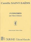 Concerto Violon n° 3 op. 61 Camille Saint-Saëns laflutedepan.com