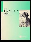 Elégie Eric Tanguy Partition Violon - laflutedepan.com
