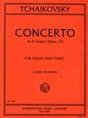 Concerto Violon ré majeur op. 35 Oistrakh TCHAIKOVSKY laflutedepan.com