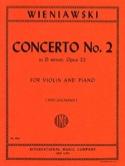 Concerto n° 2 ré mineur op. 22 - Violon WIENIAWSKI laflutedepan.com