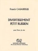 Divertissement Petit Russien Francis Casadesus laflutedepan.com