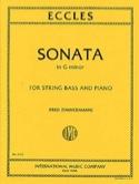 Sonata In G Minor - Contrebasse Henry Eccles laflutedepan.com