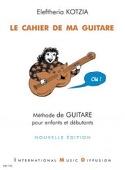 Le Cahier de ma Guitare Eleftheria Kotzia Partition laflutedepan.com