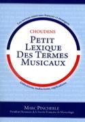 Petit Lexique des Termes Musicaux Marc Pincherle laflutedepan.com