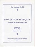 Concerto en Ré Majeur - Guitare et Piano VIVALDI laflutedepan.com