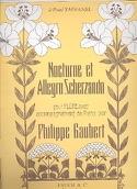 Nocturne et Allegro Scherzando Philippe Gaubert laflutedepan.com
