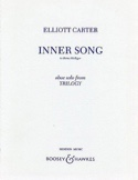 Inner Song - Elliott Carter - Partition - Hautbois - laflutedepan.com