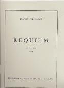 Requiem – Flauto solo - Kazuo Fukushima - Partition - laflutedepan.com