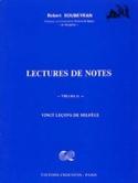 Lecture de notes – Volume 2 - Robert Soubeyran - laflutedepan.com